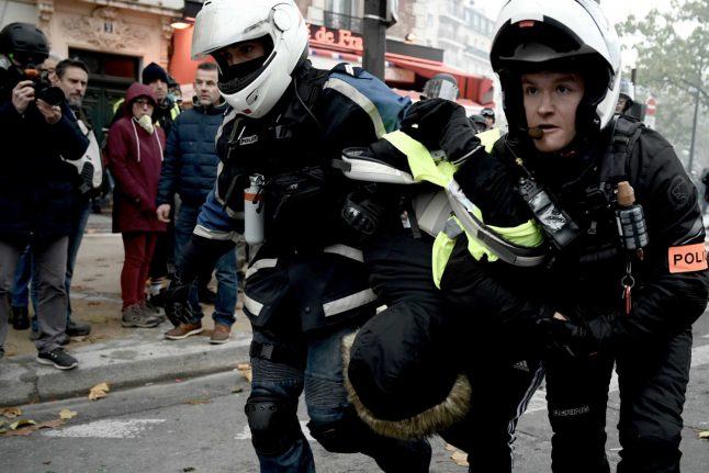 French police face probe after video emerges of Paris protest clashes