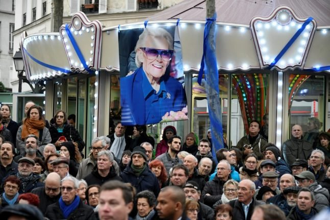 IN PICTURES: Paris says farewell to cabaret king Michou