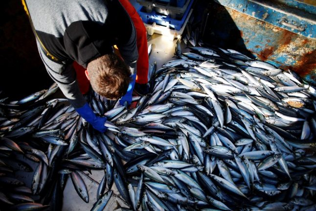 France tells Britain - remember that you export most of your fish to the EU