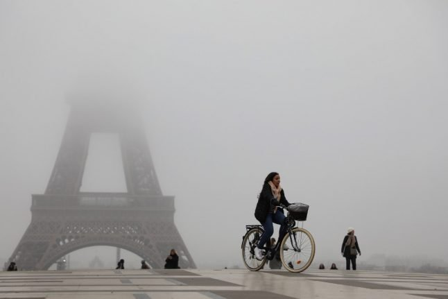 A strike effect? Parisians stay on their bikes as transport goes back to normal