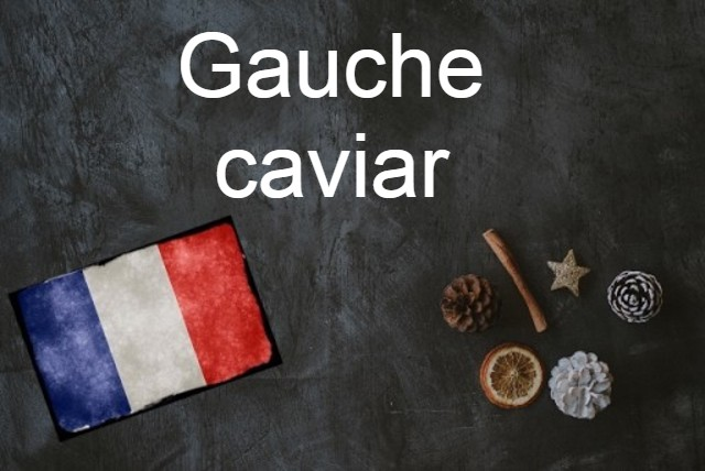 French expression of the Day: Gauche caviar