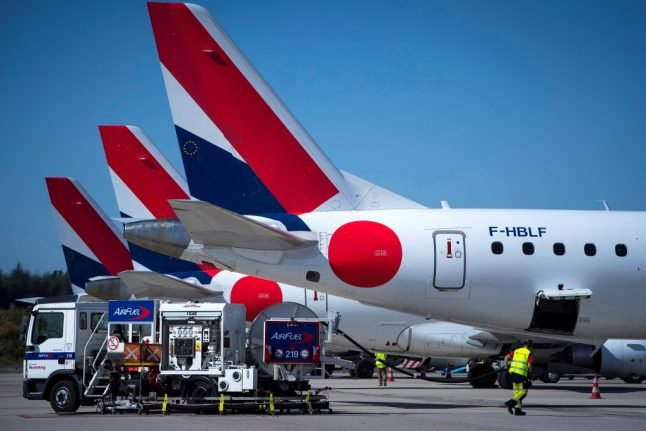 French airline pilots strike – which flights are affected?