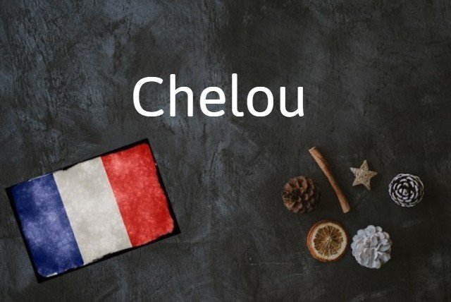French word of the day: Chelou