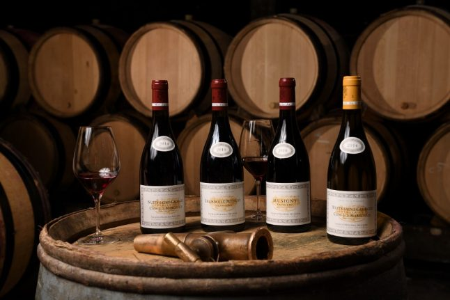 US imports of French wine plummet as tariffs hit