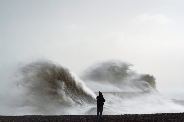 France braced for 110 km/h winds as Storm Ciara arrives from Britain