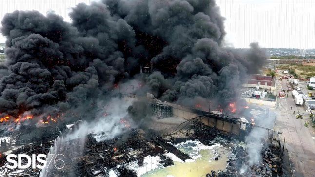 French arm of US chemical giant Lubrizol charged over toxic factory blaze