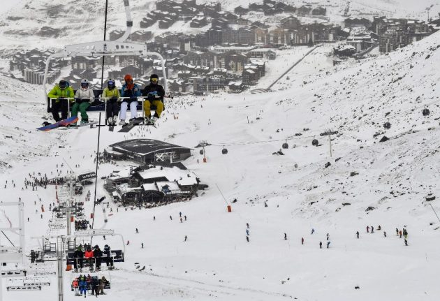 These are the French ski resorts affected by unlimited strike action in February