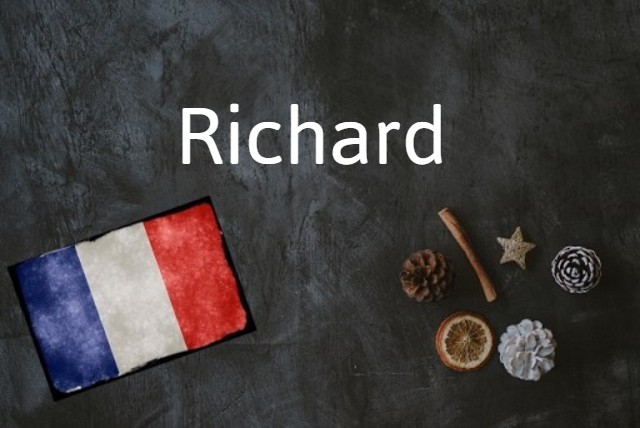 French word of the day: Richard