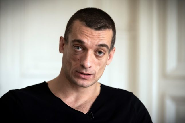 Russian artist and girlfriend charged over France sex-tape scandal