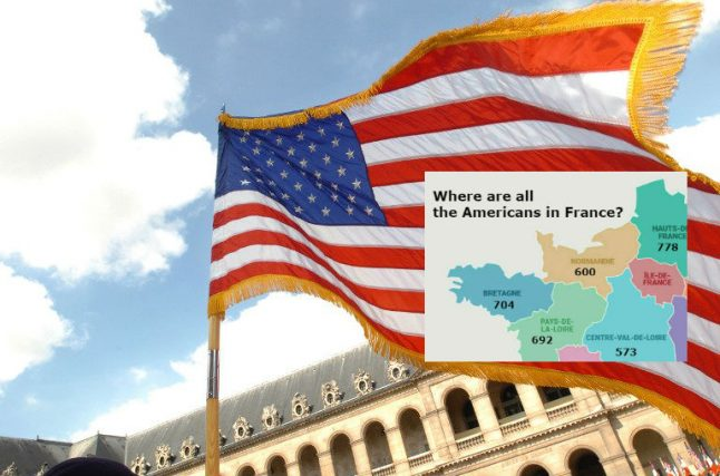 From Provence to Paris: Where do all the Americans live in France?