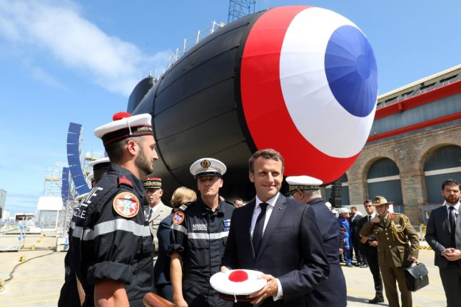 Macron urges greater EU role in curbing nuclear threats