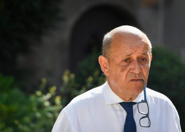 Alleged fraudsters 'used silicone mask of French minister to extort millions'