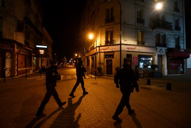These are the French towns and cities that have imposed coronavirus curfews