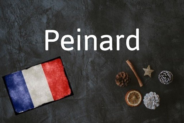French word of the day: Peinard