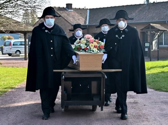 IN PICTURES: The French brotherhood braving the epidemic to provide decent burials for the destitute