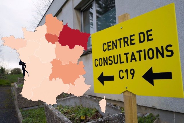 MAP: Which regions of France are most affected by coronavirus?