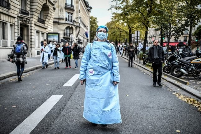 Nurses open up about life on the coronavirus front line in France