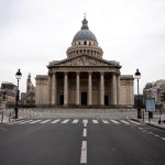 In Pictures: Paris streets left deserted after coronavirus confinement comes into force