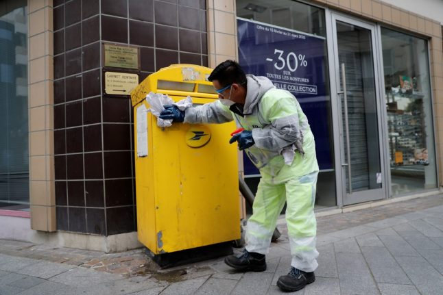 France reduces mail deliveries to three days a week