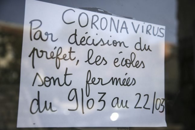 'The last day when everything will be normal': Parents in France braced for school closures