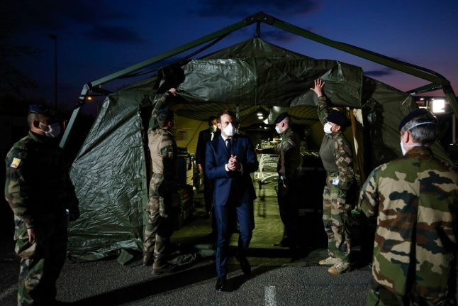 'Operation Resilience': French military to join fight against coronavirus