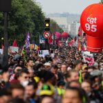 French unions call for people to demonstrate on their balconies on May Day