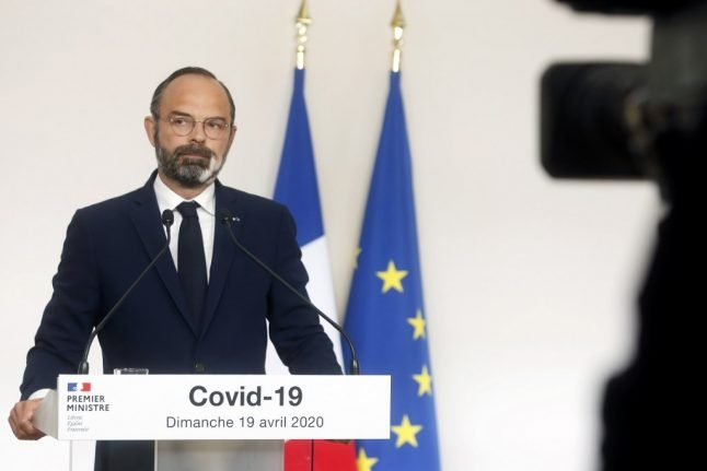 French PM says coronavirus outbreak 'under control' but warns 'life won't go back to normal after May 11th'