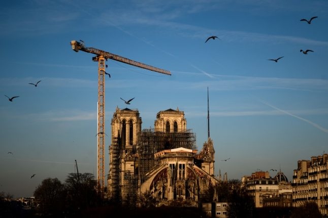 France lockdown stalls Notre-Dame's rebirth one year after fire
