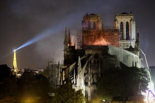 IN PICTURES: Fire and reconstruction at Paris' Notre Dame cathedral