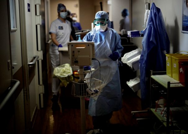 France records 6th consecutive daily fall in coronavirus intensive care patients