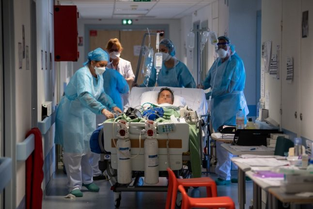 Coronavirus patient numbers in France still falling as military hospital begins packing up