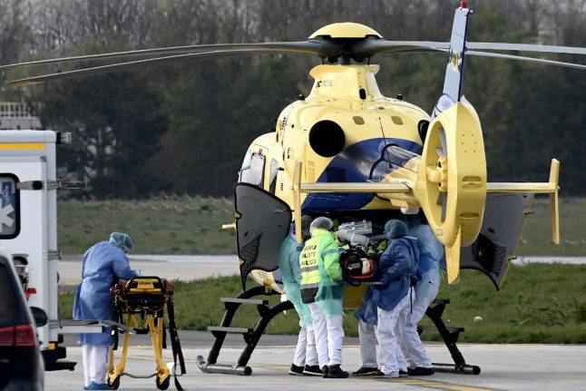 IN NUMBERS: The mass evacuation of coronavirus patients from France's overwhelmed hospitals