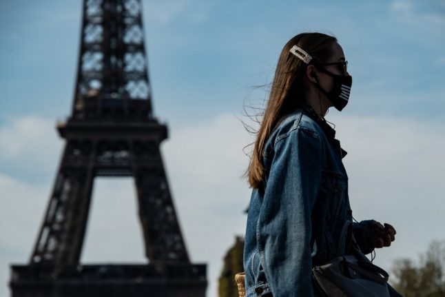 Top French fashion brands start making free face masks