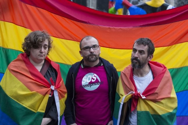 Homophobic attacks in France increase by more than 30 percent