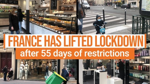 VIDEO: France eases its lockdown after almost two months of confinement