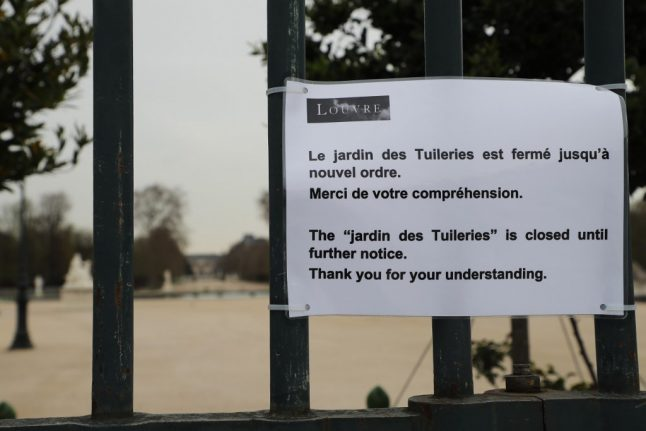 French government rejects Paris mayor's call to reopen parks