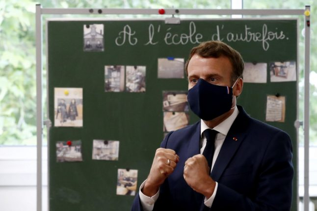 Macron: It's too early to say if summer holidays to France will happen this year