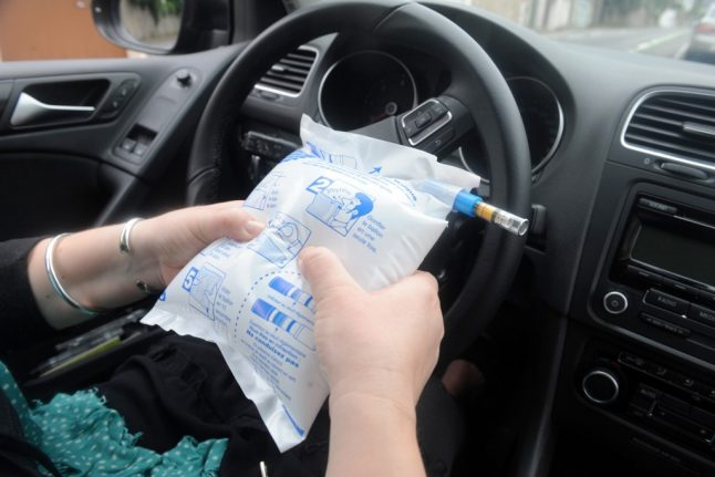 France officially scraps law requiring drivers to keep breathalysers in the car