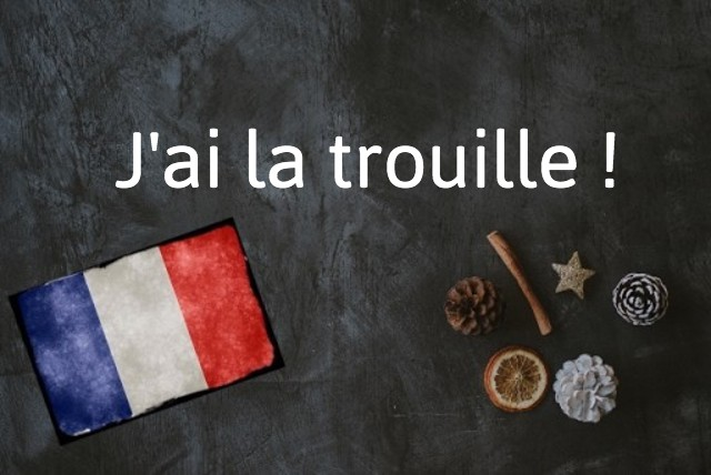 French expression of the day: Avoir la trouille