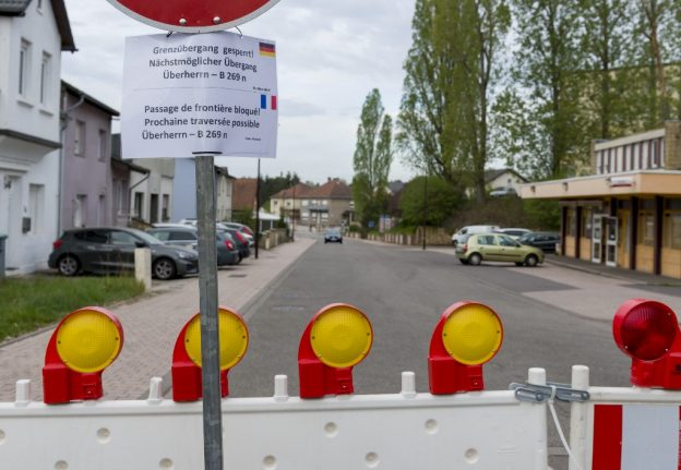 Confusion at French-German border over reopening date