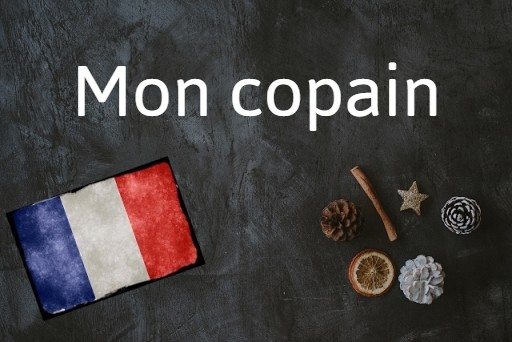 French word of the Day: Mon copain