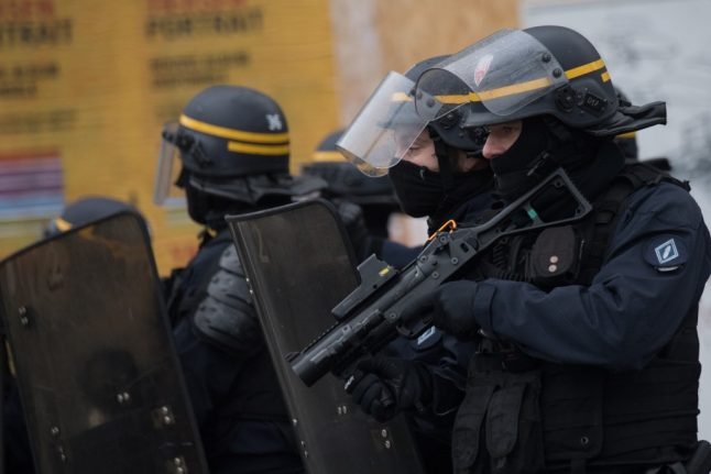 French police trio face trial over falsifying evidence against British activist