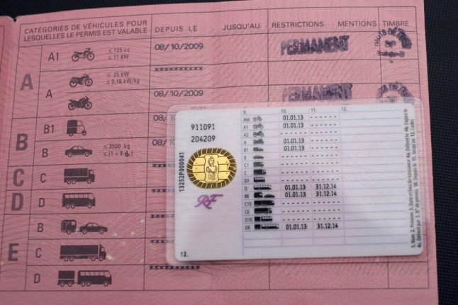 Six on trial over fake French driving licences ring