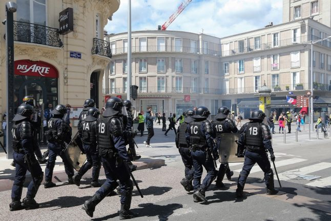 French police watchdog received 1,500 complaints against officers as protests continue