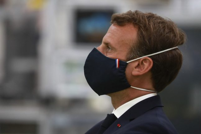 Plea to buy 'made in France' face masks as country faces a surplus