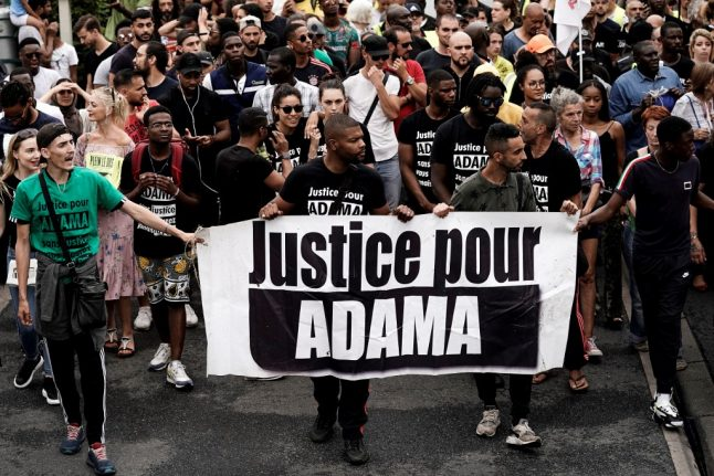 Who is Adama Traore and why are there protests across France in his name?