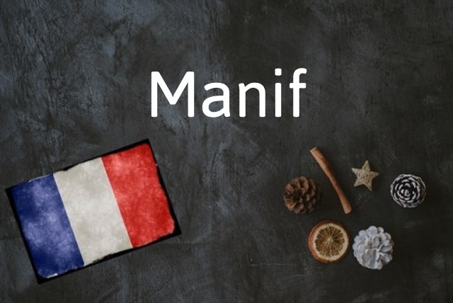 French word of the day: Manif