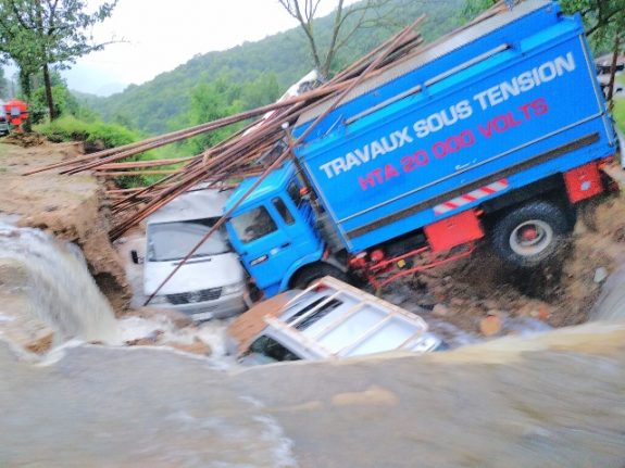IN IMAGES: Four months of rainfall in 12 hours cause flash floods in southern France