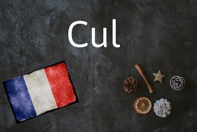 French word of the Day: Cul