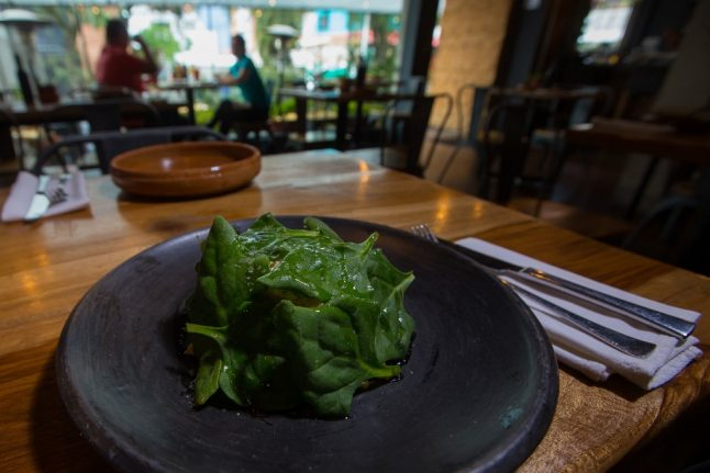Four Frenchwomen hospitalised after confusing spinach with a deadly wild flower